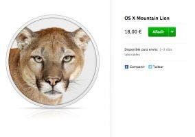 OS X Mountain Lion en la Apple Store