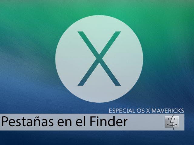 Pestañas en el Finder de OS X Mavericks, todo más organizado
