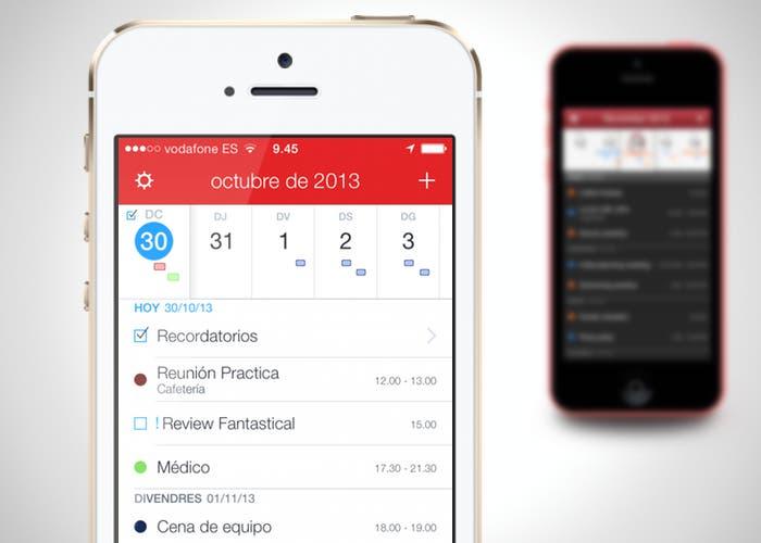 Nueva versión para iOS 7 de Fantastical 2
