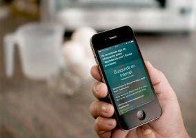 Siri buscando por Applesencia