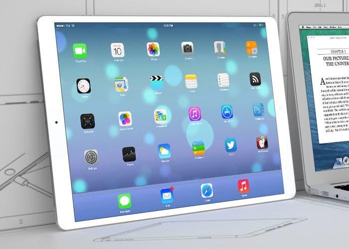 Mockup de un nuevo iPad