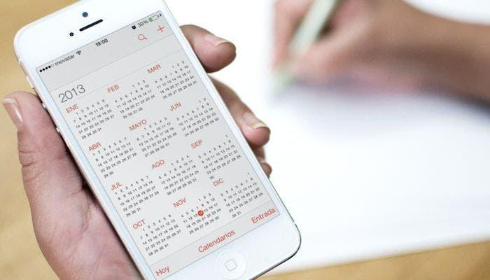 Calendario vista general del año