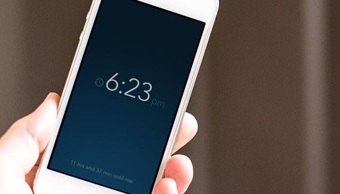 Reloj iPhone 5