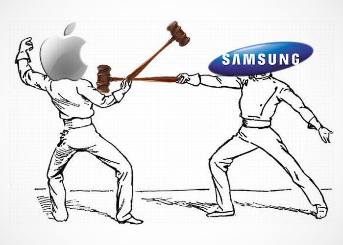 Lucha entre Apple y Samsung