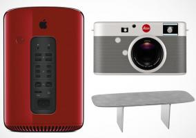 Mac Pro Product Red, cámara Leica y mesa de Jony Ive y Marc Newson