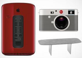 Mac Pro Product Red, cámara Leica y mesa de Jony Ive y Marc Newson