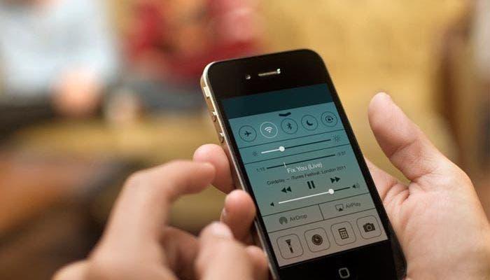 Centro de control iOS 7