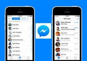 Facebook Messenger para iOS 7