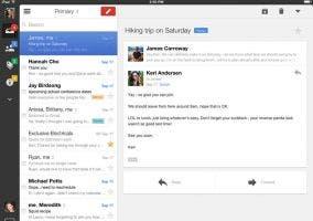 Nuevo diseño de Gmail para iOS