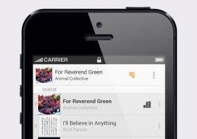 Aplicación de Google Music para iOS