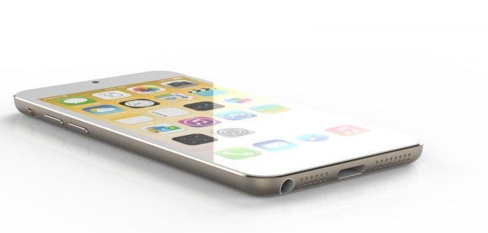 Concepto iPhone 6 blanco