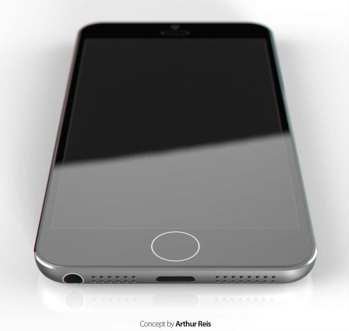 Concepto iPhone 6 negro