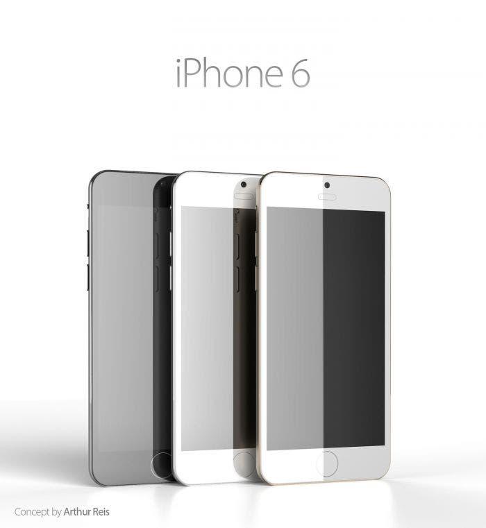 Tres colores de iPhone 6