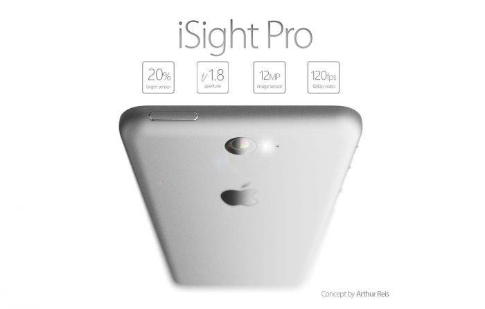 iPhone 6 cámara iSight Pro