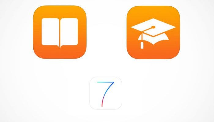 iBooks y iTunes U en iOS 7