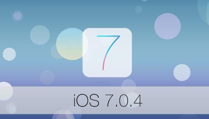 Actualización a iOS 7.0.4