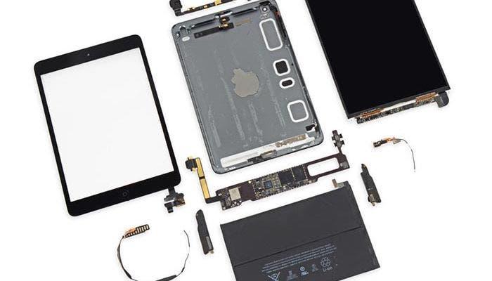 iFixit despieza el nuevo iPad mini