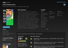 Película de Jobs en la iTunes Store