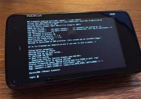Darwin para ARM corriendo en un Nokia N900