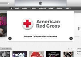 Donaciones a través de iTunes