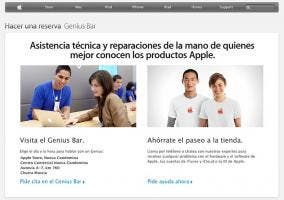 Reserva de Genius Bar