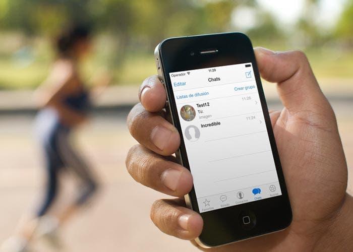 WhatsApp para iOS 7
