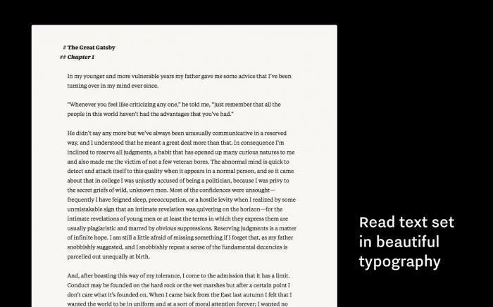 Writer Pro on OS X