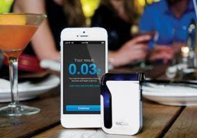 Alcoholímetro Bluetooth