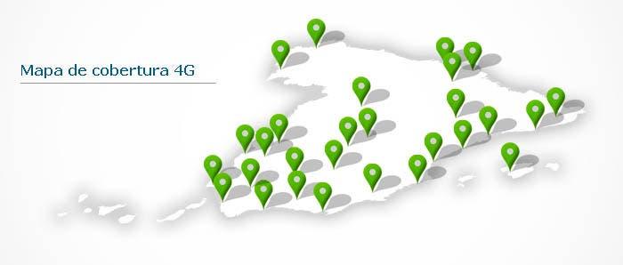 Mapa España Cobertura Movistar 4G