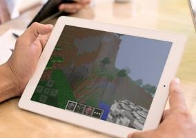 Minecraft en un iPad