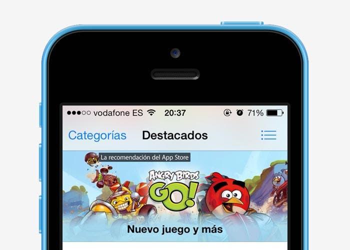 Angry Birds Go! en la App Store