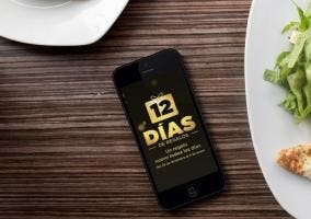 Aplicación de los 12 días de regalos de Apple