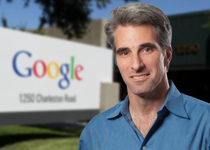 Craig Federighi bookmarked by Google
