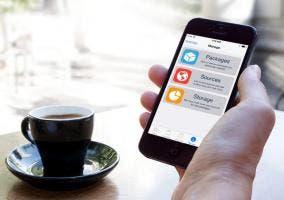 El nuevo Cydia corriendo en iOS 7