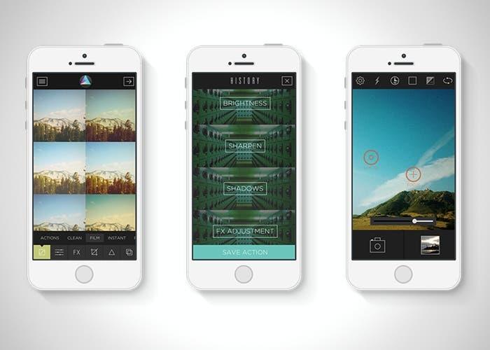 Aplicación para filtros e imágenes para iPhone