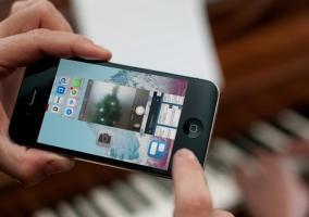 Cómo realizar fotos desde la multitarea en iOS 7