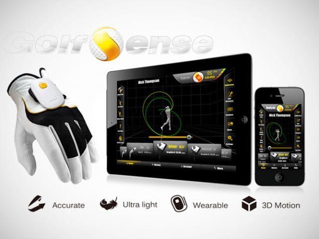 GolfSense, un sistema portátil que te permitirá capturar tus golpes