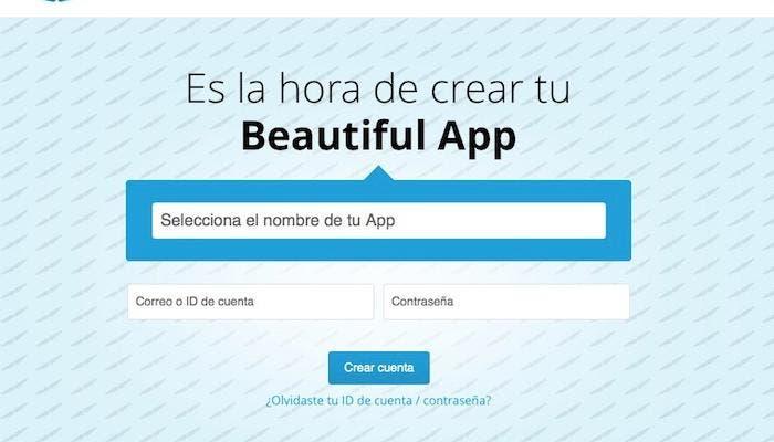 Es la hora de crear tu Beautiful App