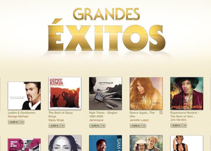 Ofertas y promociones en iTunes Music Store