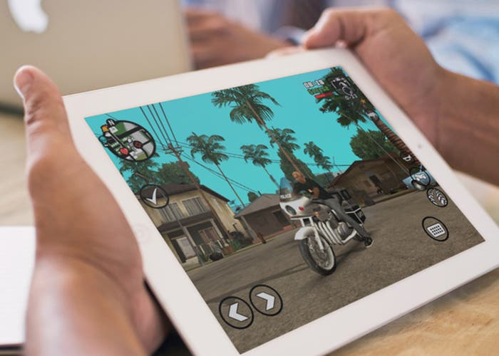 GTA San Andreas en un iPad