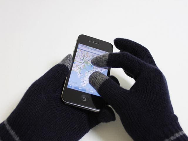 Guantes sensibles al iPhone y al iPad, un buen regalo para Reyes
