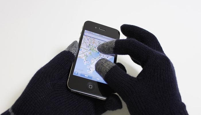 Guantes compatibles con el iPhone