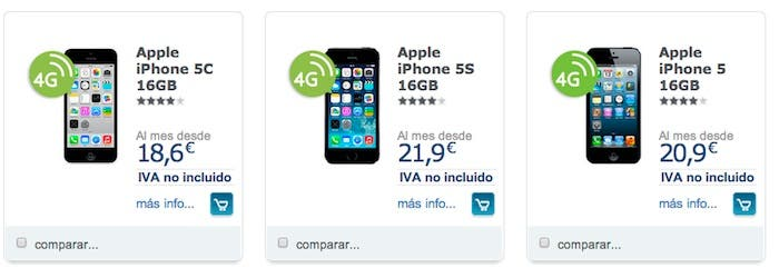 iPhone 5, 5C y 5S Movistar