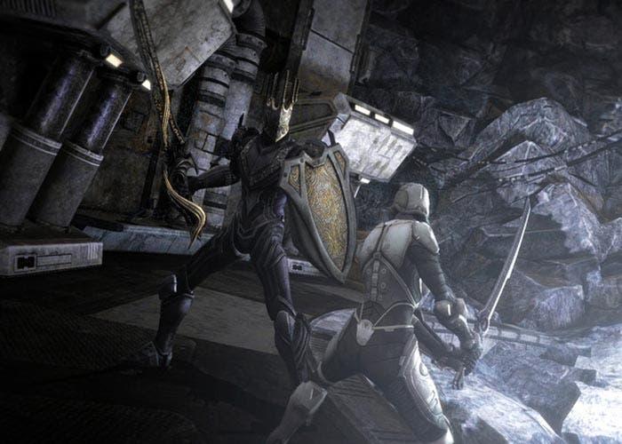 Captura de Infinity Blade III: Ausar Rising