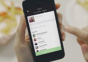 Instagram presenta mensajes privados