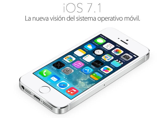 Imagen de iOS 7.1