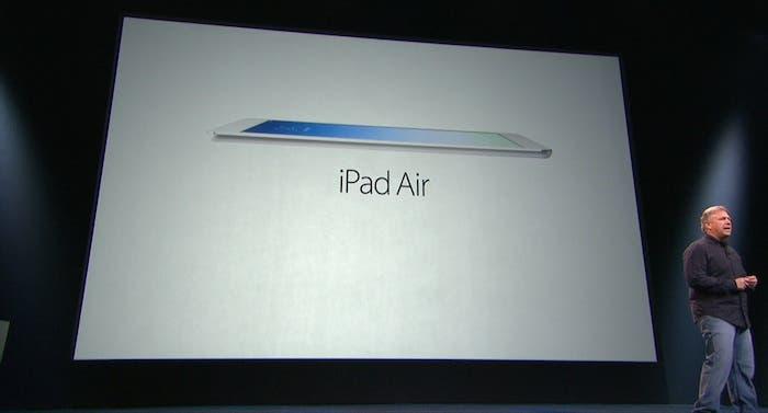 keynote iPad Air
