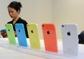 iPhone 5c en China