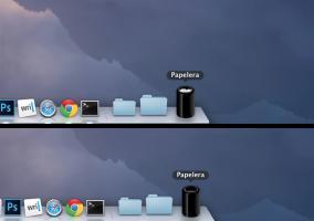 Papelera de reciclaje del Mac Pro