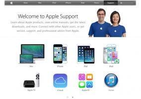 Nuevo portal de soporte de Apple